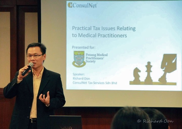 Presentation for the Penang Medical Practitioners' Society
