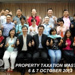 With my students at the Property Taxation Mastery workshop, organised by Wealth Mastery Academy