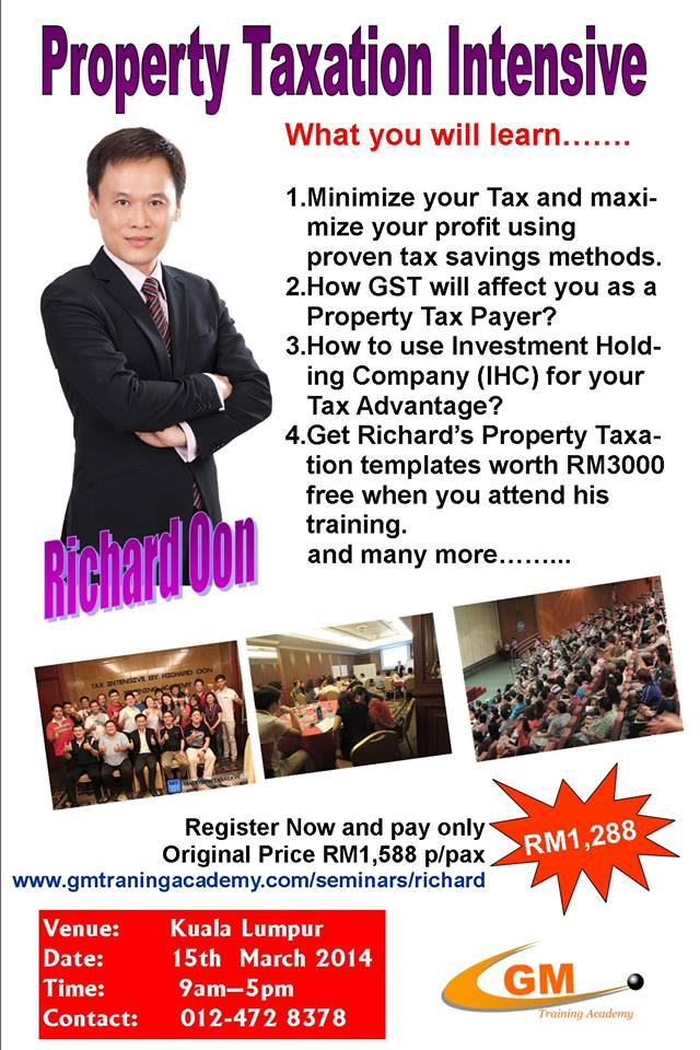 Property Taxation Intensive by Richard Oon