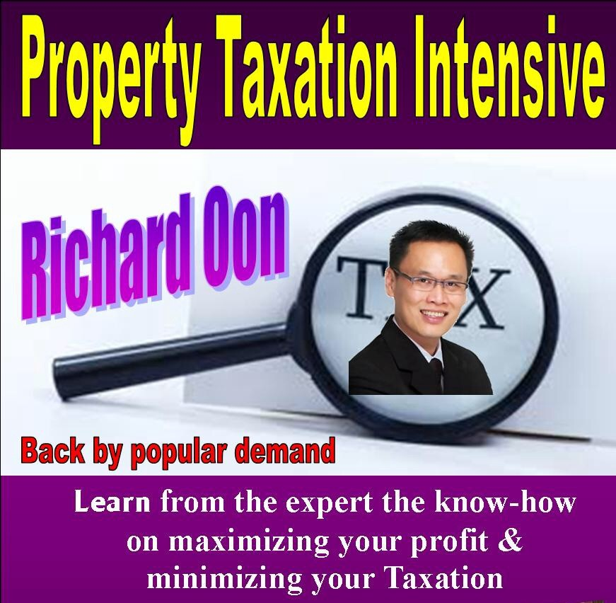 Property Taxation Intensive Seminar by Richard Oon
